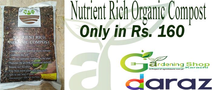 Nutrient Rich Organic Compost for Kitchen Gardening in Pakistan